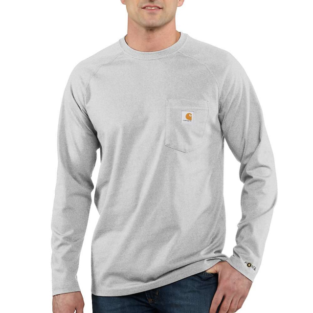 Carhartt - Men's Force Cotton Long Sleeve T- Shirt
