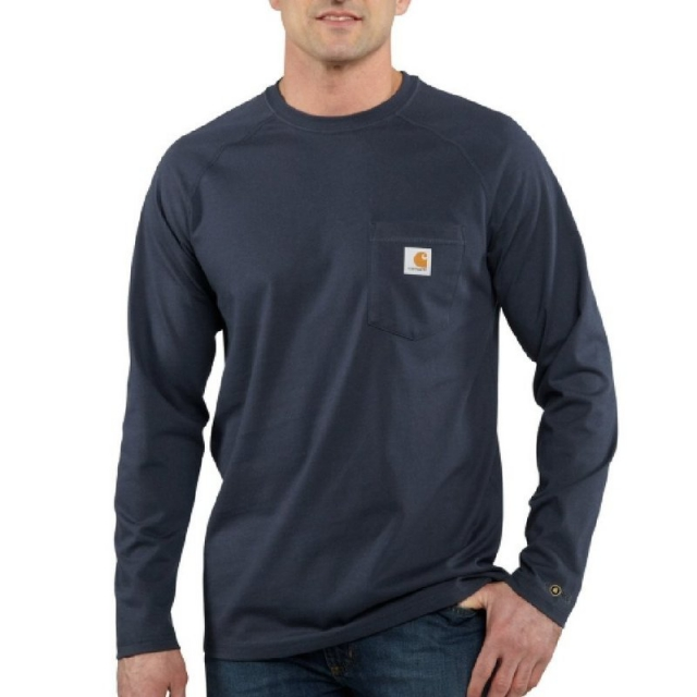 Carhartt - Men's Force Cotton Long Sleeve Tee