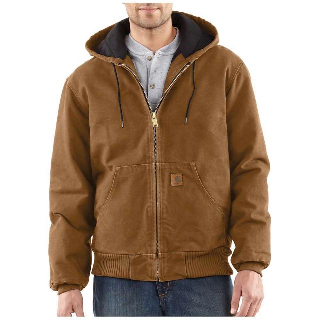Carhartt - Men's Quilted Flannel Lined Sandstone Active Jacket