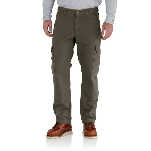 Carhartt - Men's Ripstop Cargo work Flannel Lined Pant