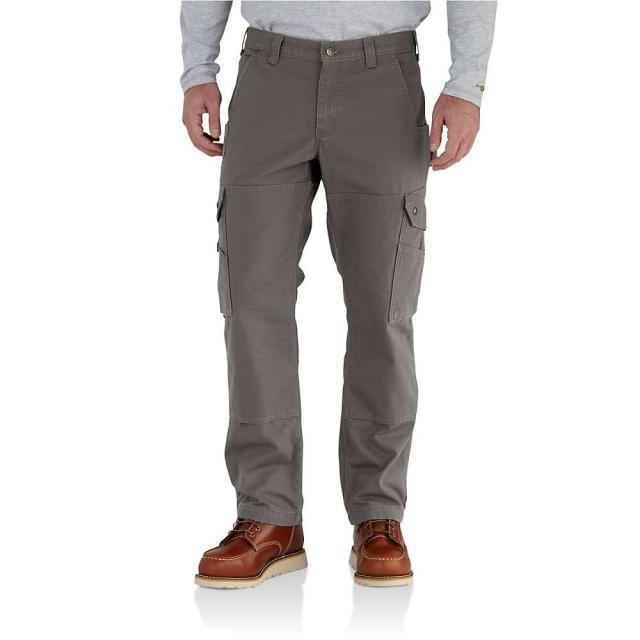 Carhartt - Men's Ripstop Cargo work Flannel Lined Pant