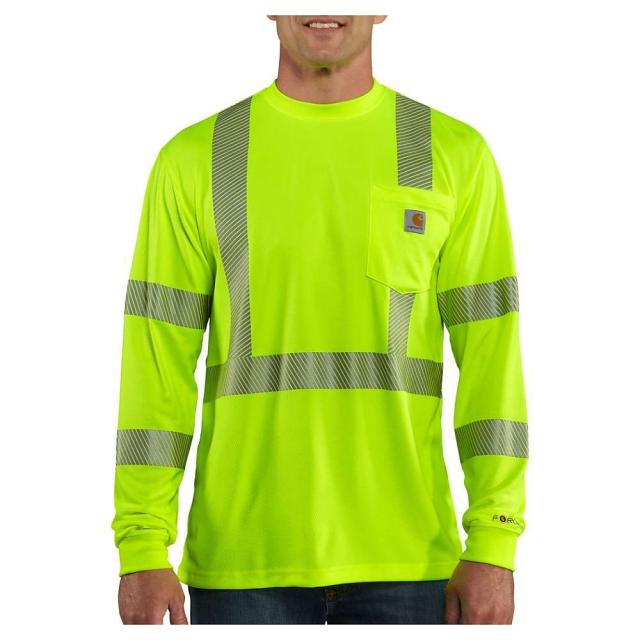 Carhartt - Men's High-Visibility Force LS Class 3 T-Shirt