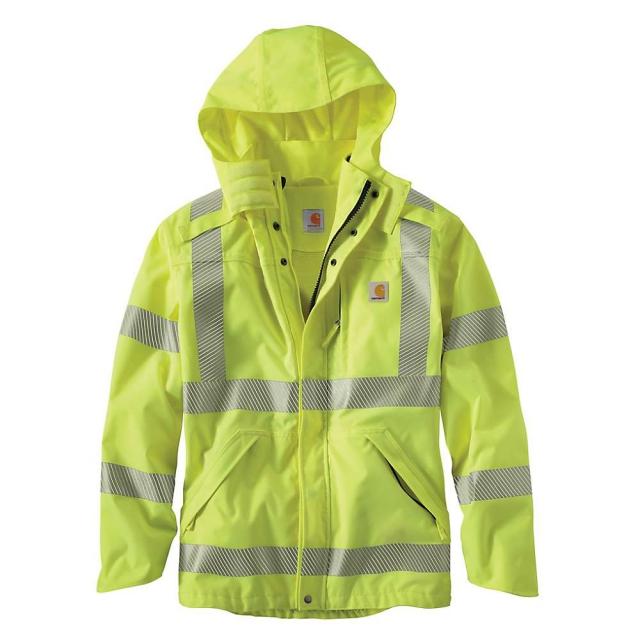 Carhartt - Men's Hight-Visibility Class 3 Waterproof Jacket
