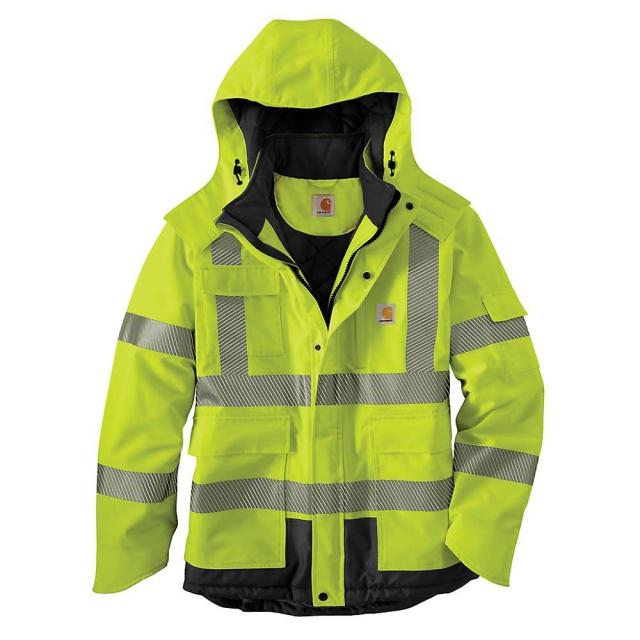 Carhartt - Men's Hight-Visibility Class 3 Waterproof Sherwood Jacket