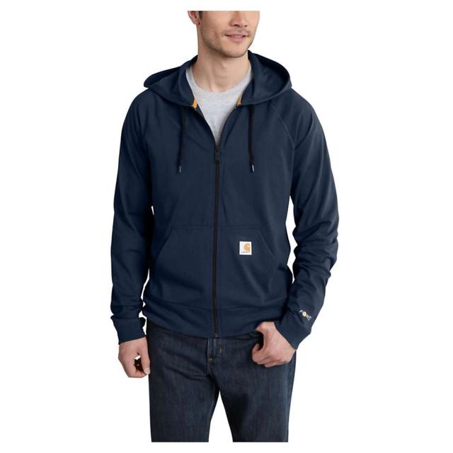 Carhartt - Men's Force Cotton Delmont Zip Front Hoodie