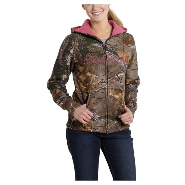 Carhartt - Women's Clarksburg Camo Zip Front Sweatshirt