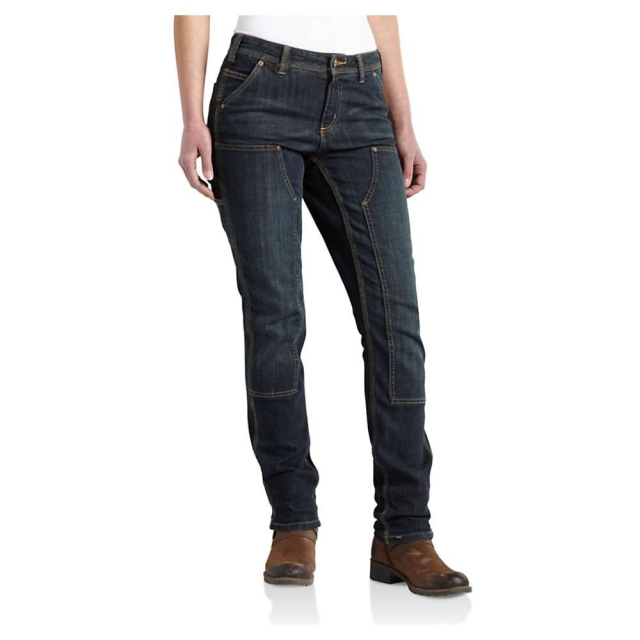 Carhartt - Women's 1889 Slim Fit Denim Dungaree Pant