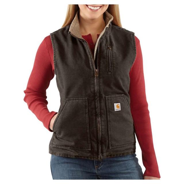 Carhartt - Women's Sandstone Mock Neck Vest