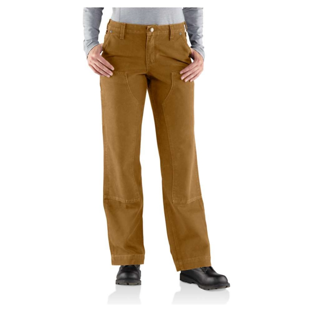 Carhartt - Women's Relaxed Fit Sandstone Kane Dungaree Pant