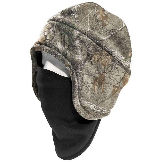 Carhartt - Men's Camo Fleece 2 in 1 Headwear