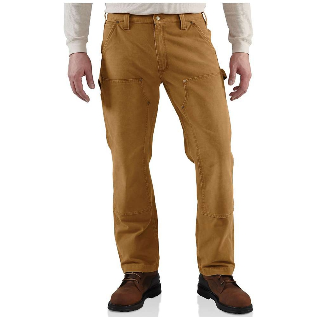 Carhartt - Men's Weathered Duck Double Front Dungaree Pant