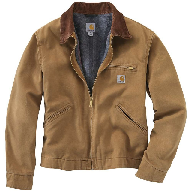 Carhartt - Men's Weathered Duck Detroit Jacket