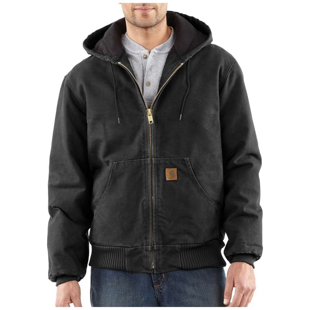 Carhartt - Men's Quilted Flannel Lined Sandstone Active Jacket