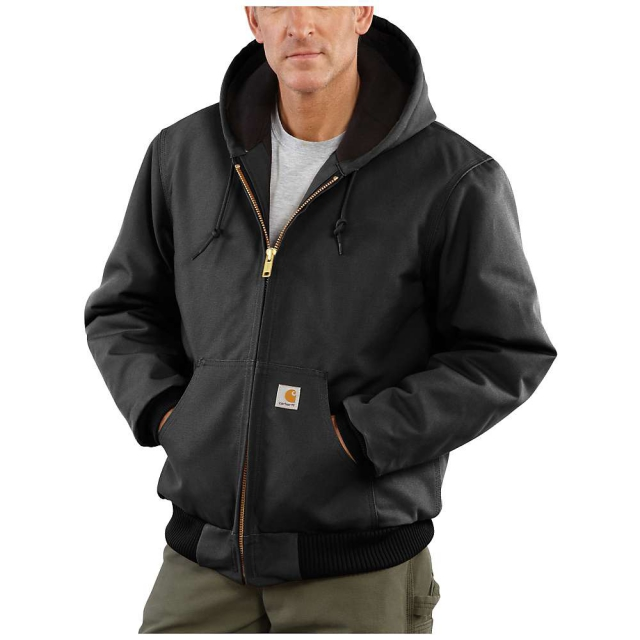 Carhartt - Men's Quilted Flannel Lined Duck Active Jacket