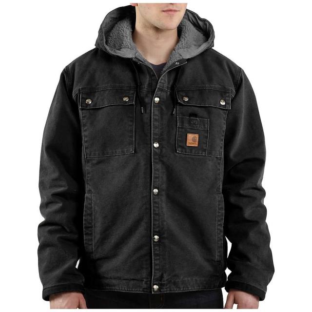 Carhartt - Men's Sandstone Hooded Multi-Pocket Jacket