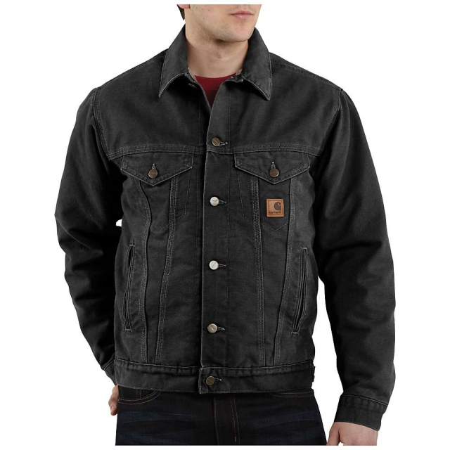Carhartt - Men's Sandstone Jean Jacket