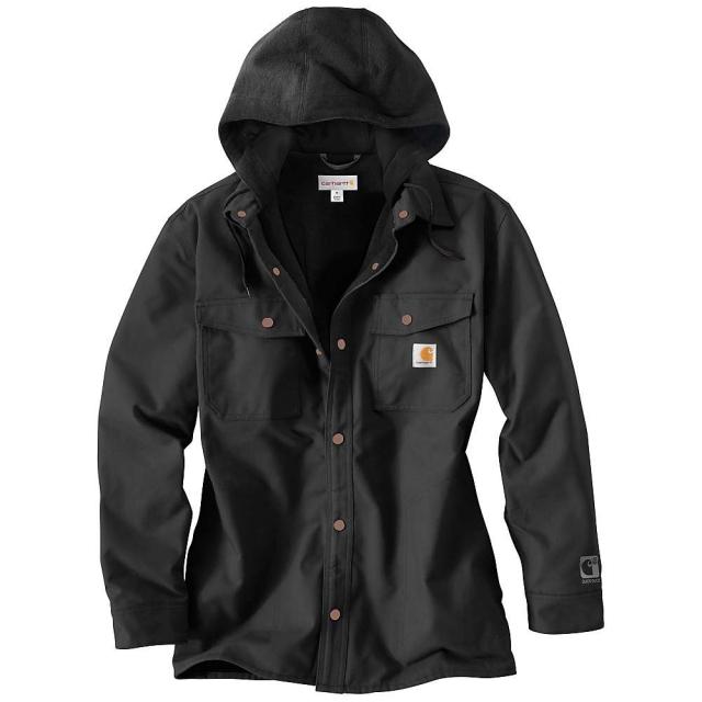 Carhartt - Men's Quick Duck Roane Hooded Shirt Jacket