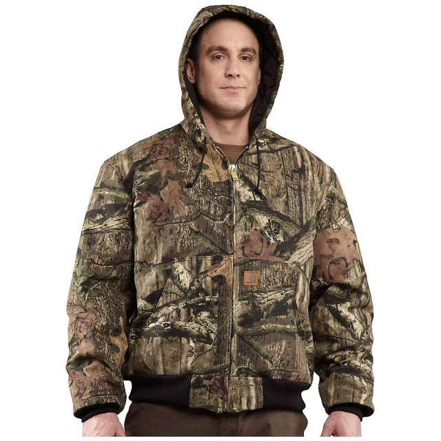 Carhartt - Men's Quilted Flannel Lined Workcamo Active Jacket