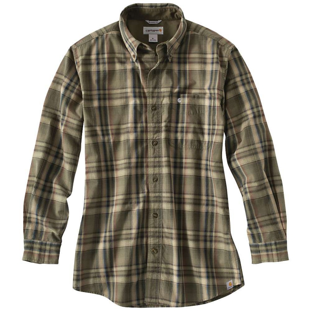 Carhartt - Men's Bellevue Plaid Long Sleeve Shirt