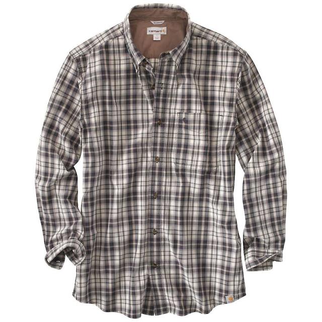 Carhartt - Men's Bellevue Plaid Long Sleeve Shirt