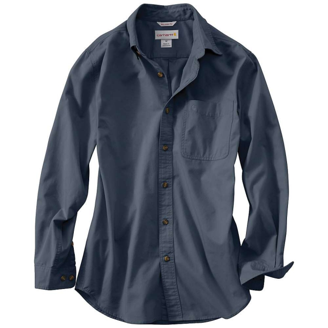 Carhartt - Men's Hines Solid Long Sleeve Shirt