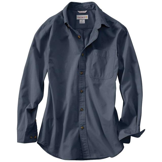 Carhartt - Men's Hines Solid Long Sleeve Shirt