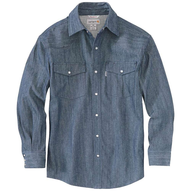 Carhartt - Men's Ironwood Denim Work Shirt