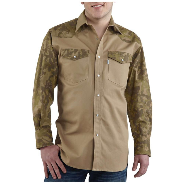 Carhartt - Men's Ironwood Twill Work Shirt