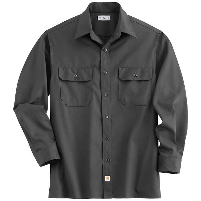 Carhartt - Men's Twill Long Sleeve Work Shirt