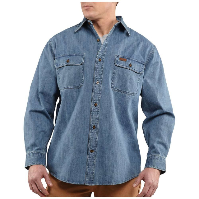 Carhartt - Men's Washed Denim Work Shirt