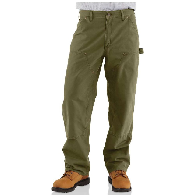 Carhartt - Men's Double Front Canvas Work Dungaree Pant