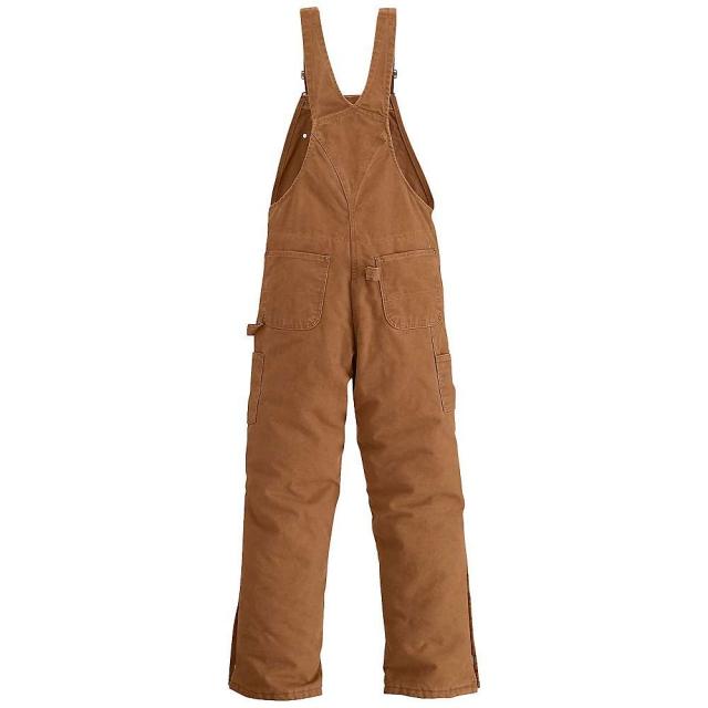 Carhartt - Men's Quilt Lined Sandstone Bib Overall