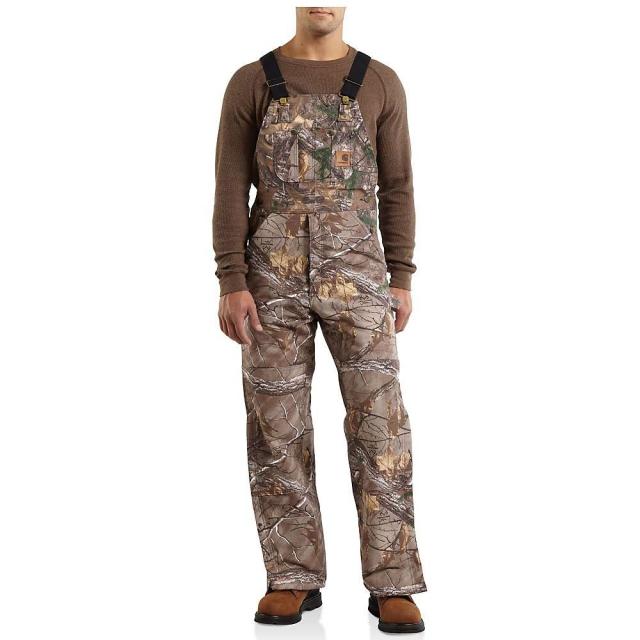 Carhartt - Men's Quilt Lined WorkCamo Bib Overall
