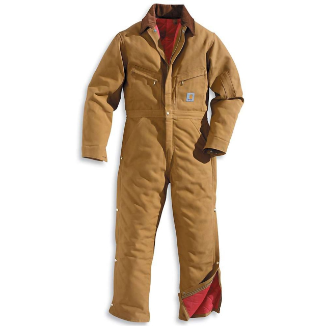 Carhartt - Men's Quilt Lined Duck Coverall