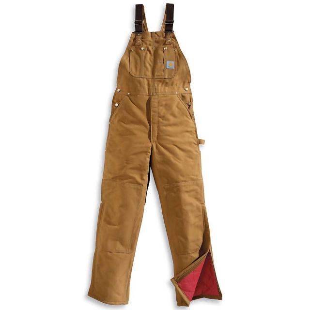 Carhartt - Men's Quilt Lined Duck Bib Overall