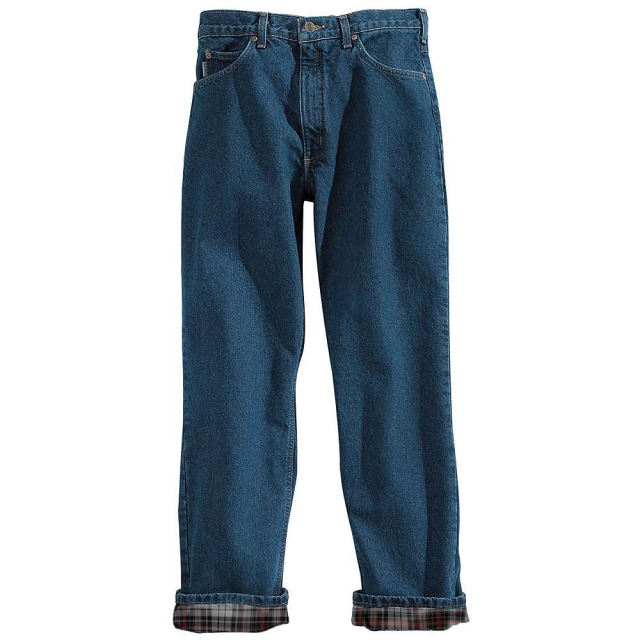 Carhartt - Men's Relaxed Fit Straight Leg Flannel Lined Jean