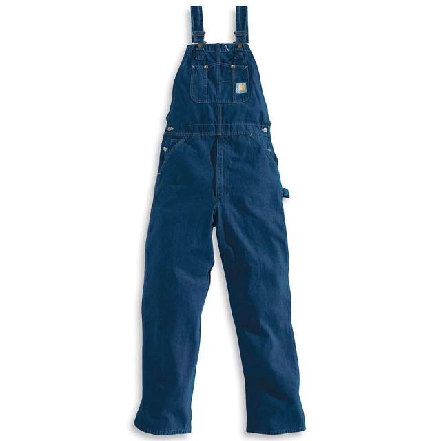 Carhartt - Men's Washed Denim Bib Overall