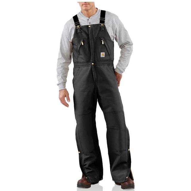 Carhartt - Men's Zip To Waist Biberall Overall