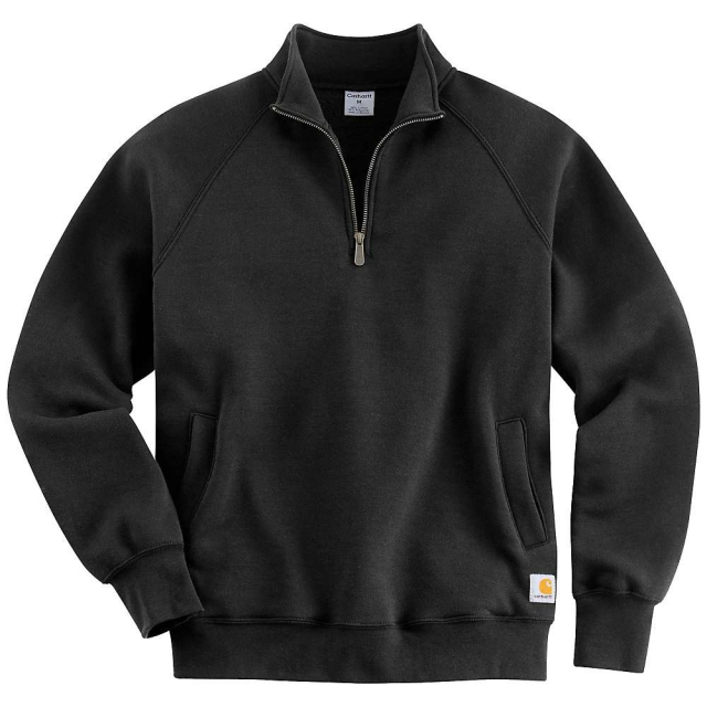 Carhartt - Men's Midweight Quarter Zip Mock Neck Sweatshirt