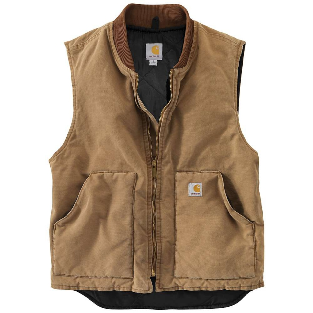Carhartt - Men's Weathered Duck Vest
