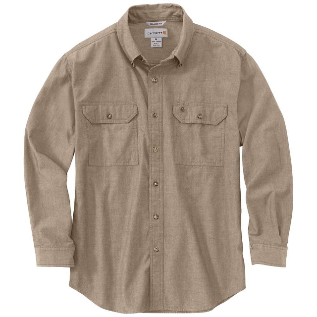 Carhartt - Men's Fort Solid Long Sleeve Shirt