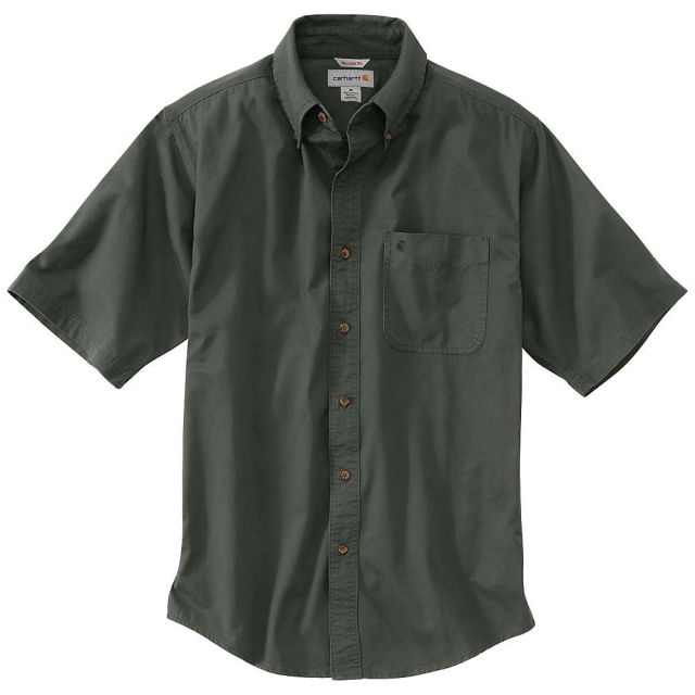 Carhartt - Men's Hines Solid Short Sleeve Shirt