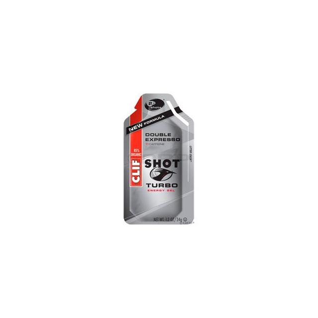 Clif Bar - Turbo Double Espresso Shot Gel