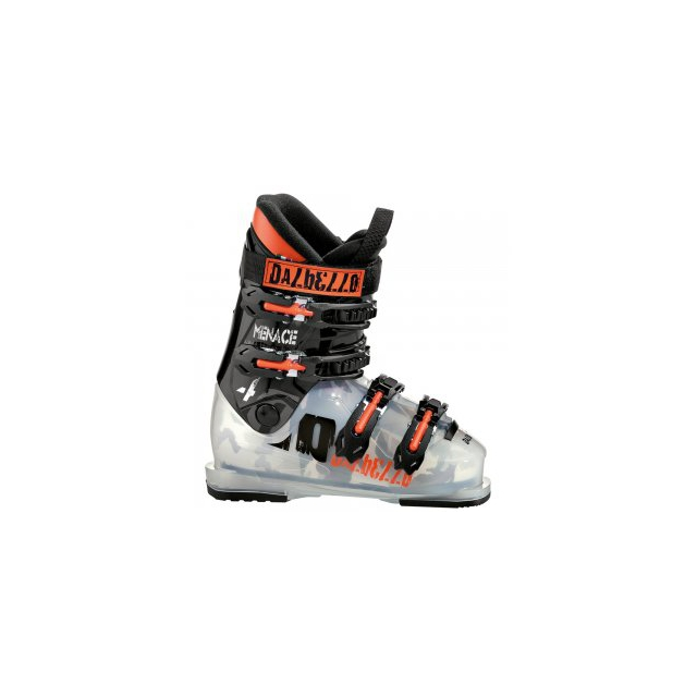 Dalbello - Menace 4 Ski Boot Kids', Tranparent Black, 22.5