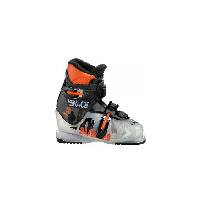 Dalbello - Menace 2 Ski Boot Kids', Tranparent Black, 19.5