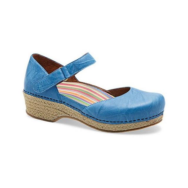 Dansko - Womens Jute Maryjane Shoes