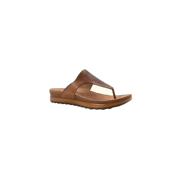 Dansko - Priya Sandal - Women's-Caramel Croc Leather-41