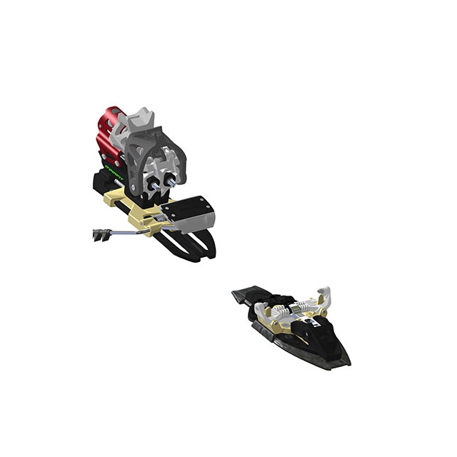 Dynafit - Beast 14 Ski Touring Binding: Black/Red, 105 mm