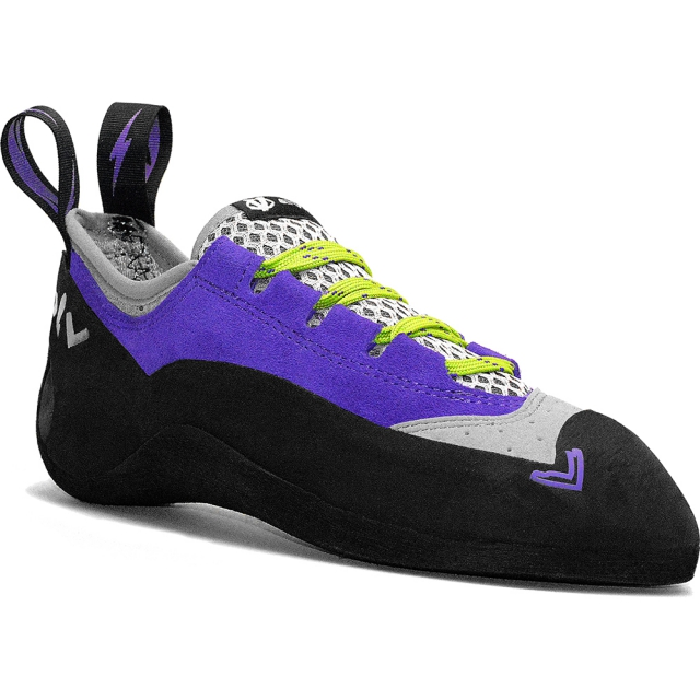 Evolv - Nikita Climbing Shoe Womens - Violet / Gray 8.5