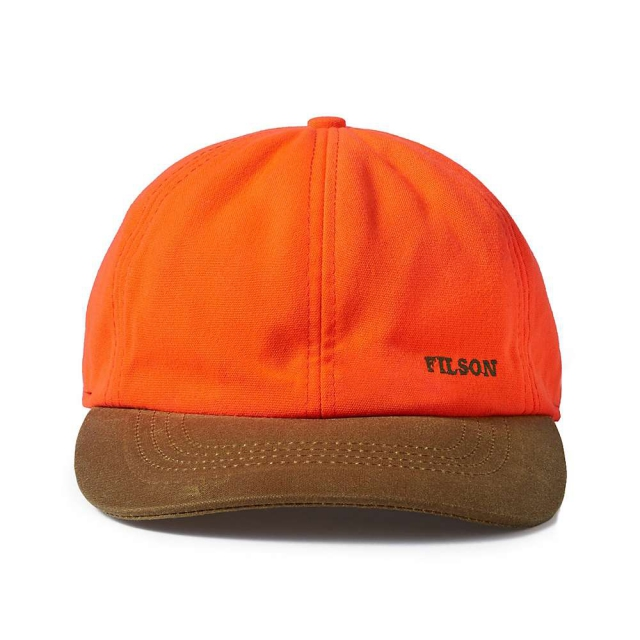 Filson - Blaze Orange Insulated Tin Cloth Cap